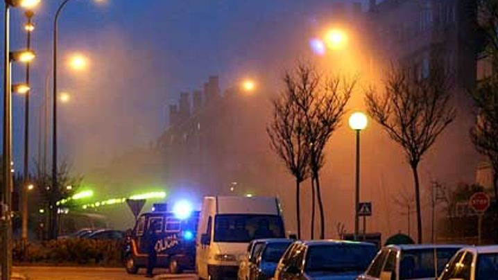 Fotostrecke: Terror-Razzia in Madrid