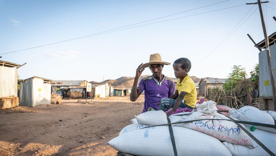 Für viele Menschen sind die Flüchtlingscamps in Äthiopien nur eine Station auf ihrer Reise Richtung Europa