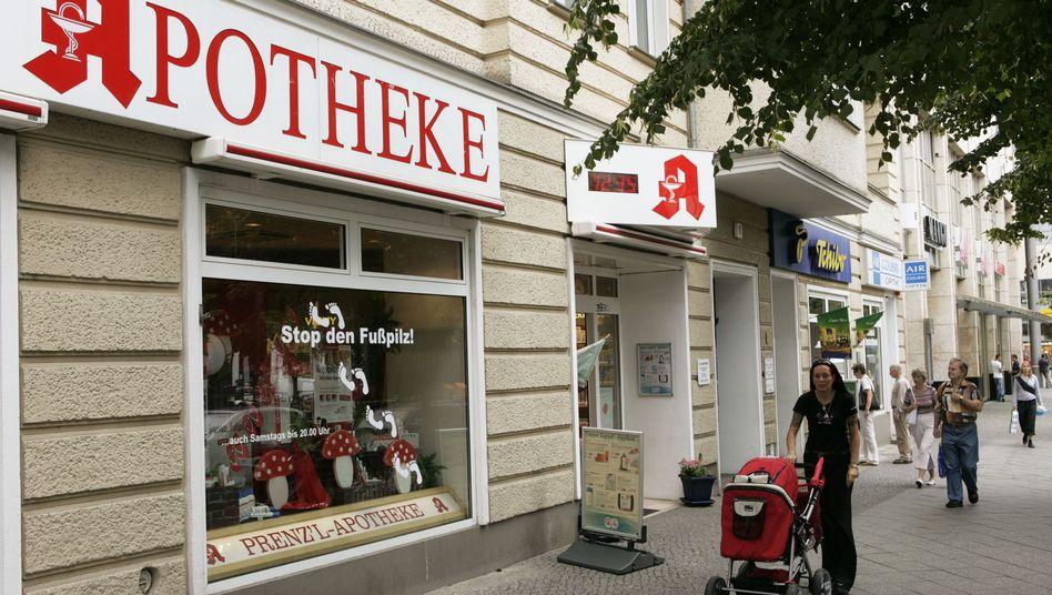 Apotheke (in Berlin): Künftig weniger Kosmetik- und Hygieneprodukte?