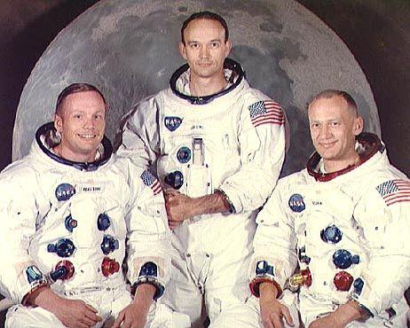 Apollo 11-Mannschaft Neil Armstrong, Michael Collins, Edwin Aldrin (v.l.n.r.): Sie waren oben. Die Frage ist nur: Wer noch?