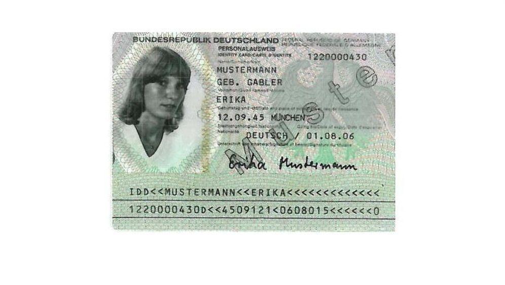 Erika Mustermann: Die Frau im Ausweis