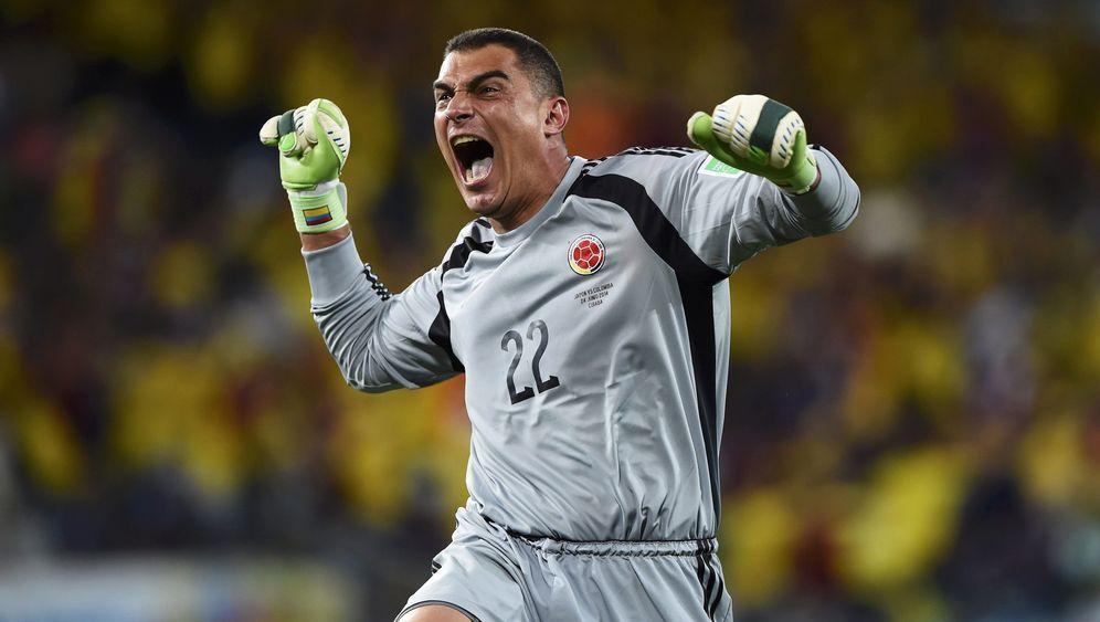 Kolumbien-Torwart Mondragón: WM-Einsatz mit 43 Jahren und drei Tagen