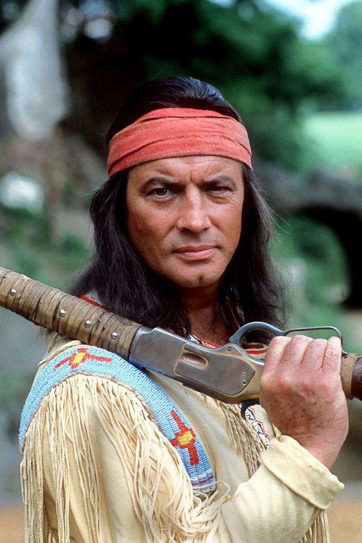 Pierre Brice als Winnetou im Jahr 1982: Von den Deutschen adoptiert
