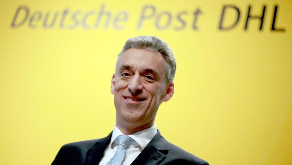 Deutsche-Post-Chef Frank Appel (Archivfoto)