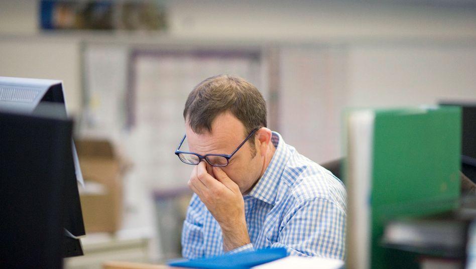 Stress im Büro: Ein Drittel weiß nicht, wie man den Ansprüchen gerecht wird