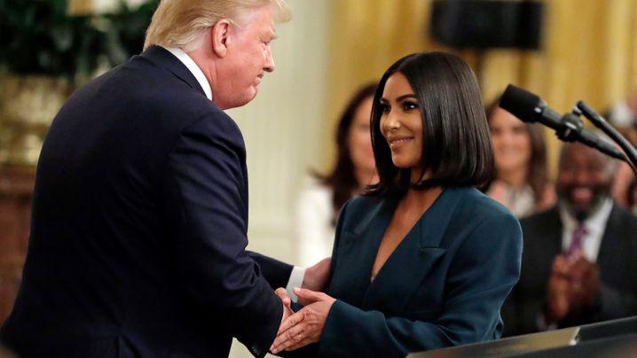 """Trump über Kim: """"Ziemlich beliebt"""""""