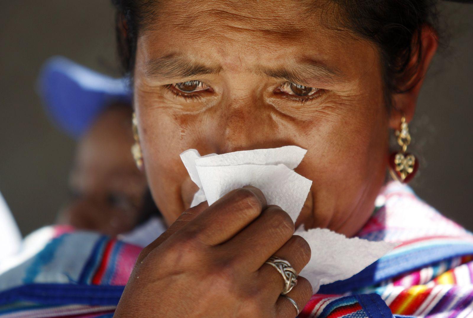 Trauer / Peru / Tränen