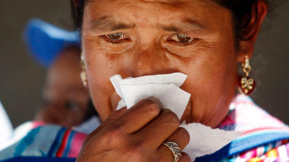 Trauernde Frau (Archivbild): Gefühle können Erinnerungen überdauern