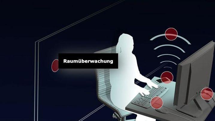 Raumüberwachung