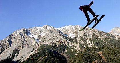 Skispringer ohne Schnee: Schluss mit Schampusbrunnen am Piz Palü?