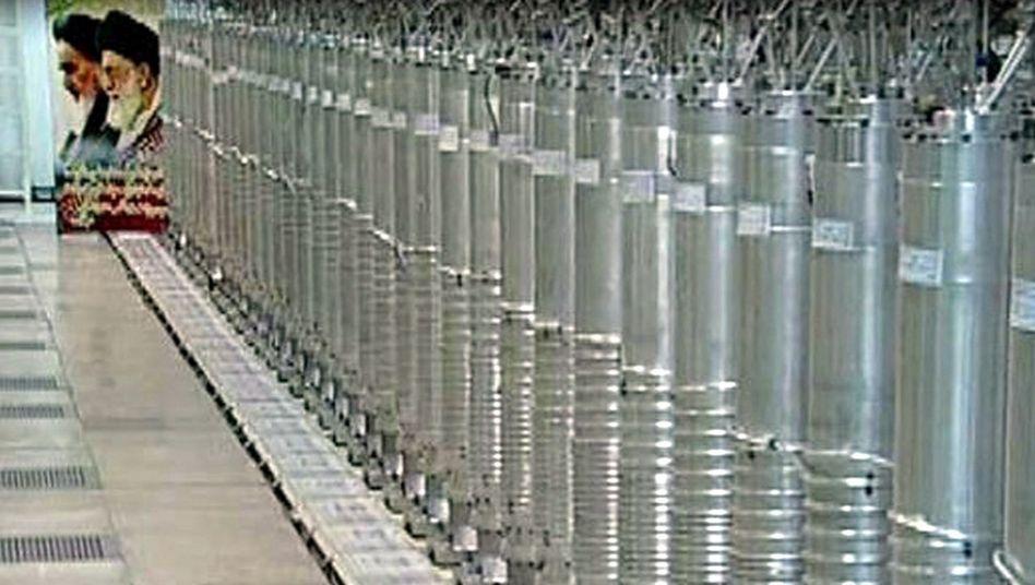 Iranische Uran-Zentrifugen (hier in Natans, Archivbild): Bericht über Explosion in Fordo