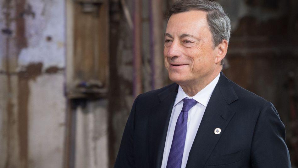 EZB-Chef Mario Draghi