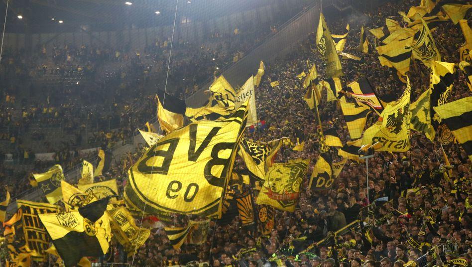 Fans in Dortmund
