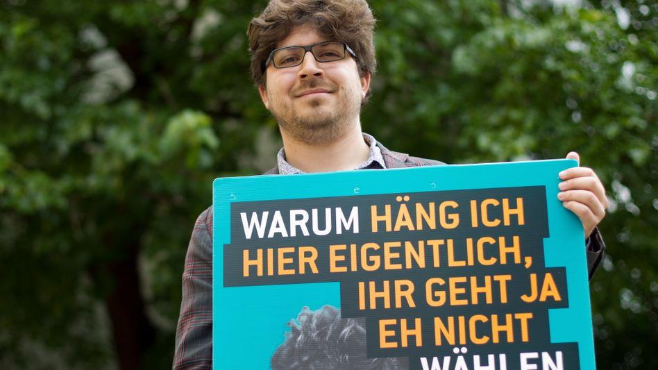 Christopher Lauer, Kandidat der Piratenpartei in Berlin: Gute Chancen