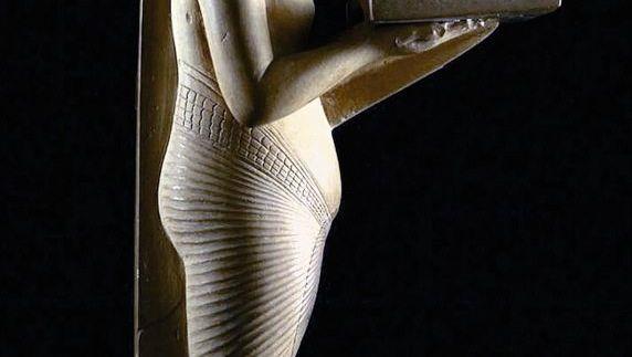 2011 aus dem Ägyptischen Museum in Kairo gestohlene Figur