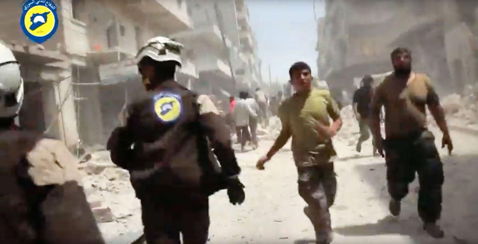Weißhelme/Syrien