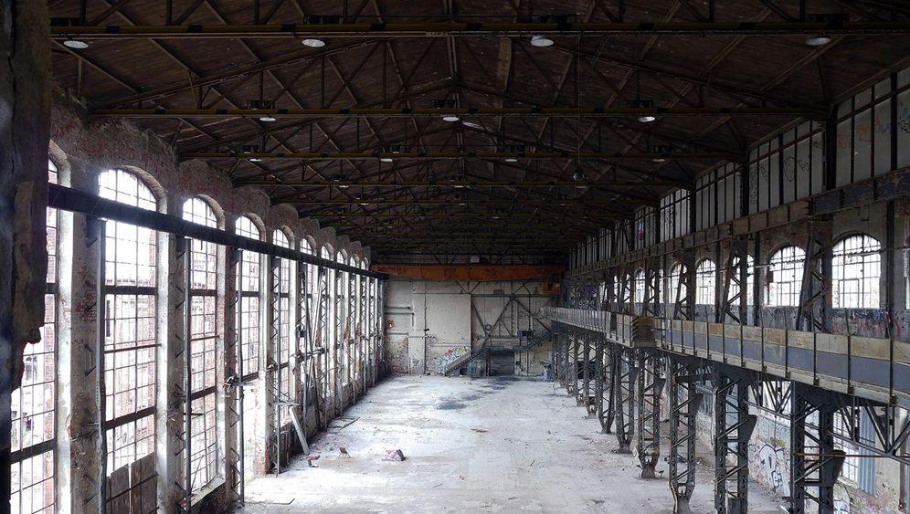 Ostdeutsche Fabrikruinen: Schutt und Scherben