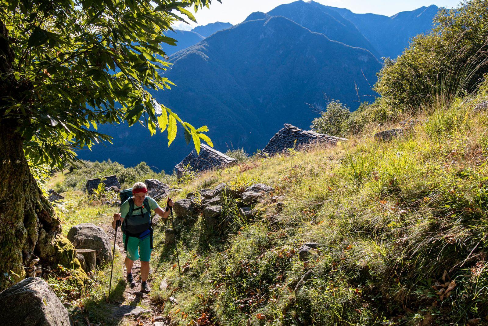 Aufstieg zur Alp Odro 5