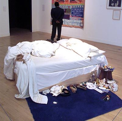 """Emin-Installation """"My Bed"""" (1999): Bruchstücke einer Skandalbiografie"""
