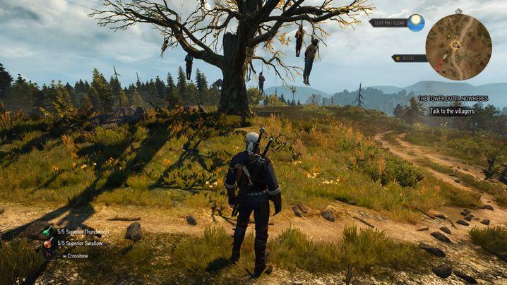 """Spielwelt von """"The Witcher 3"""": Die Aufträge wirken einzigartig"""