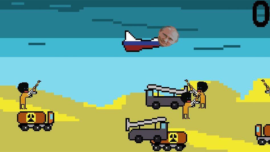 "Schrottspiel ""Putin vs Isis"""
