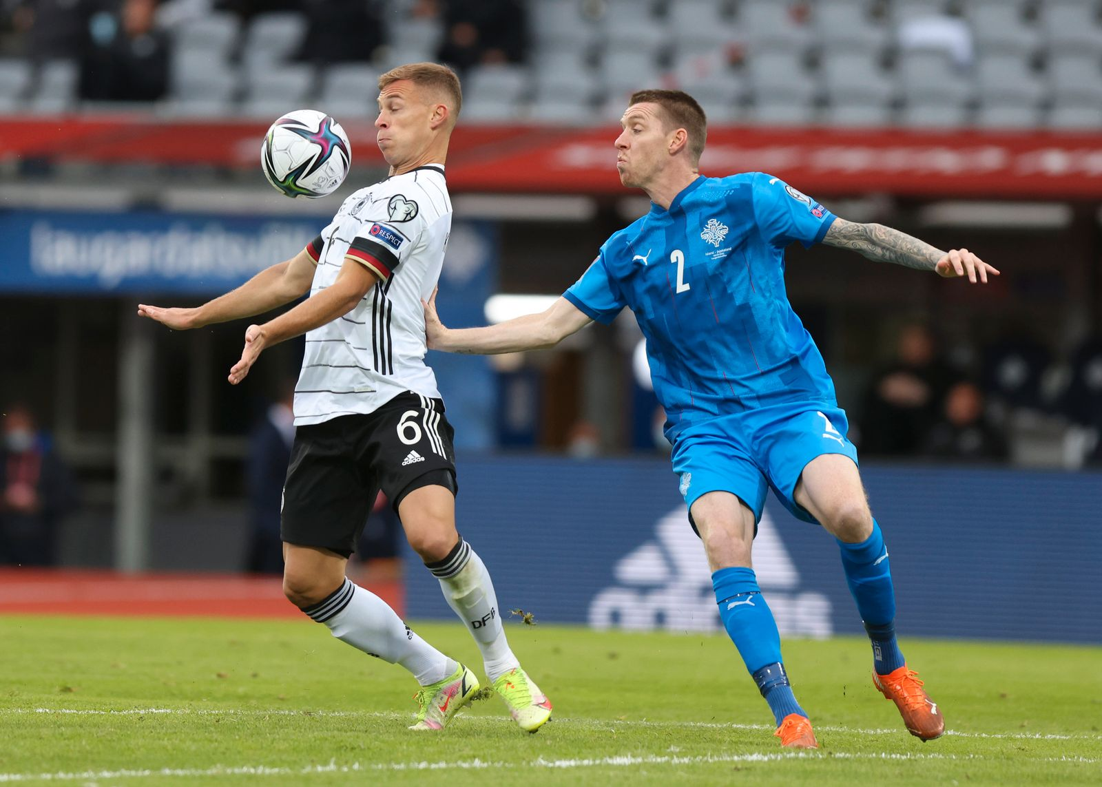 Iceland Germany WCup 2020 Soccer