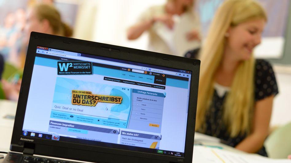 Unterrichtsprojekt zum Thema Finanzen (in Frankfurt am Main 2013): »Hohe Anpassungsfähigkeit an die schwierige Situation«
