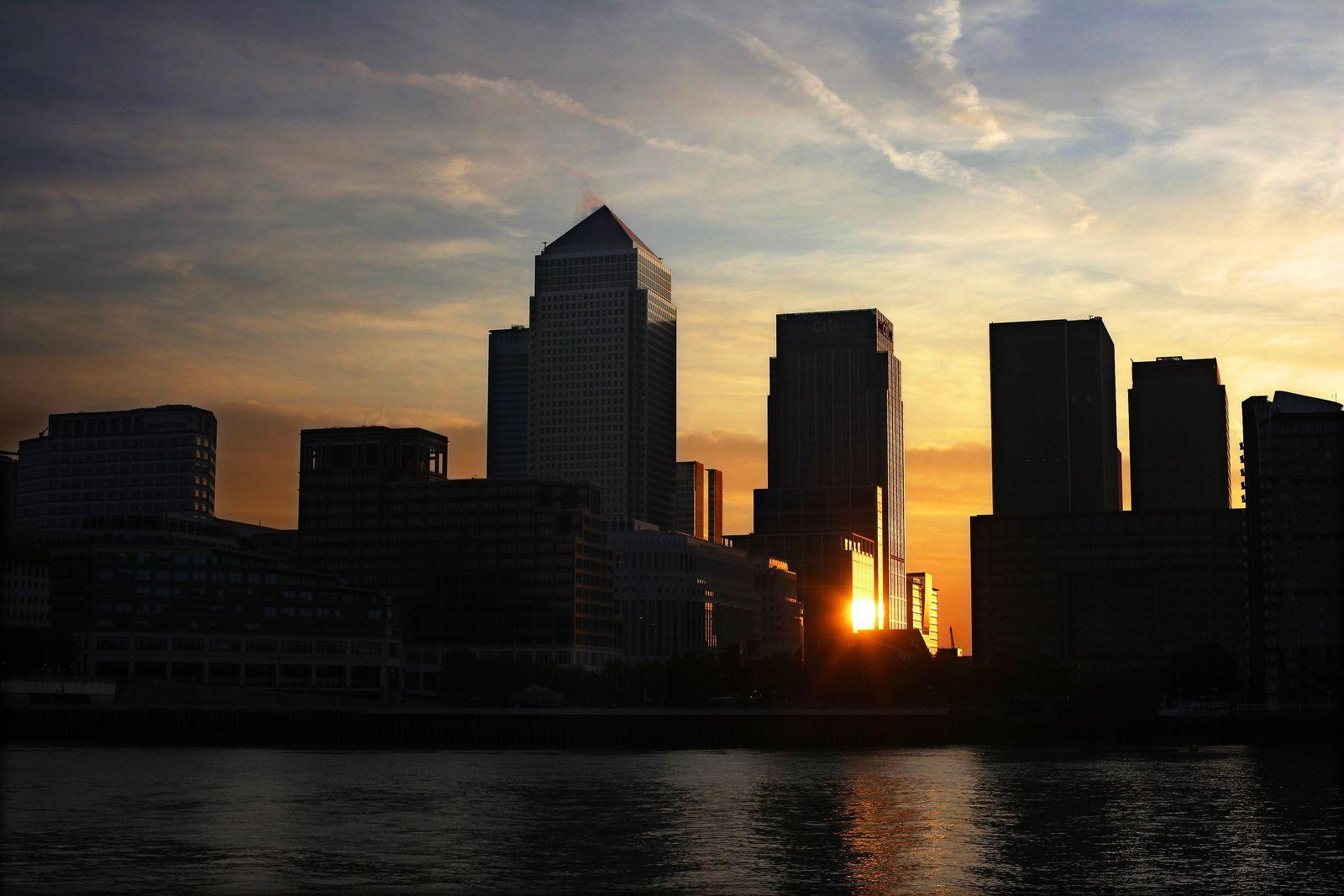Bankenviertel Londen / Banken / London