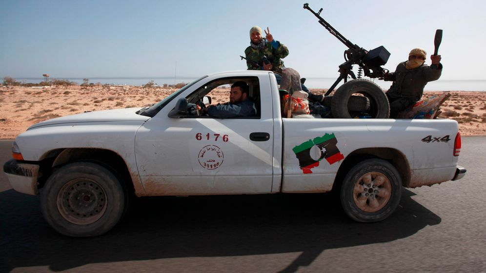 Photo Gallery: Libyan Rebels Advance West