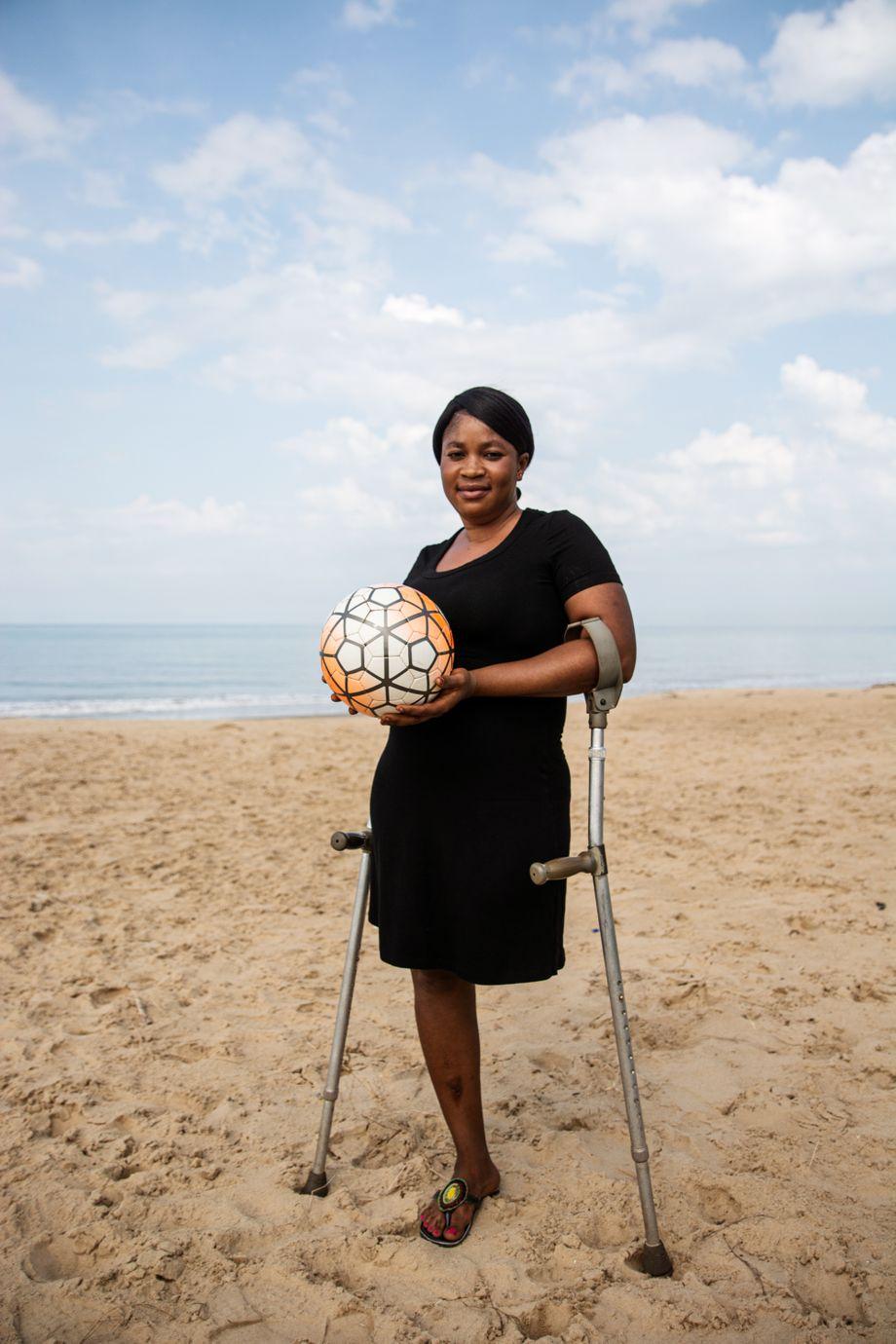 Feldspielerin Susan Davies: Früher habe sie sich geschämt, heute sei sie stolz, erzählt sie