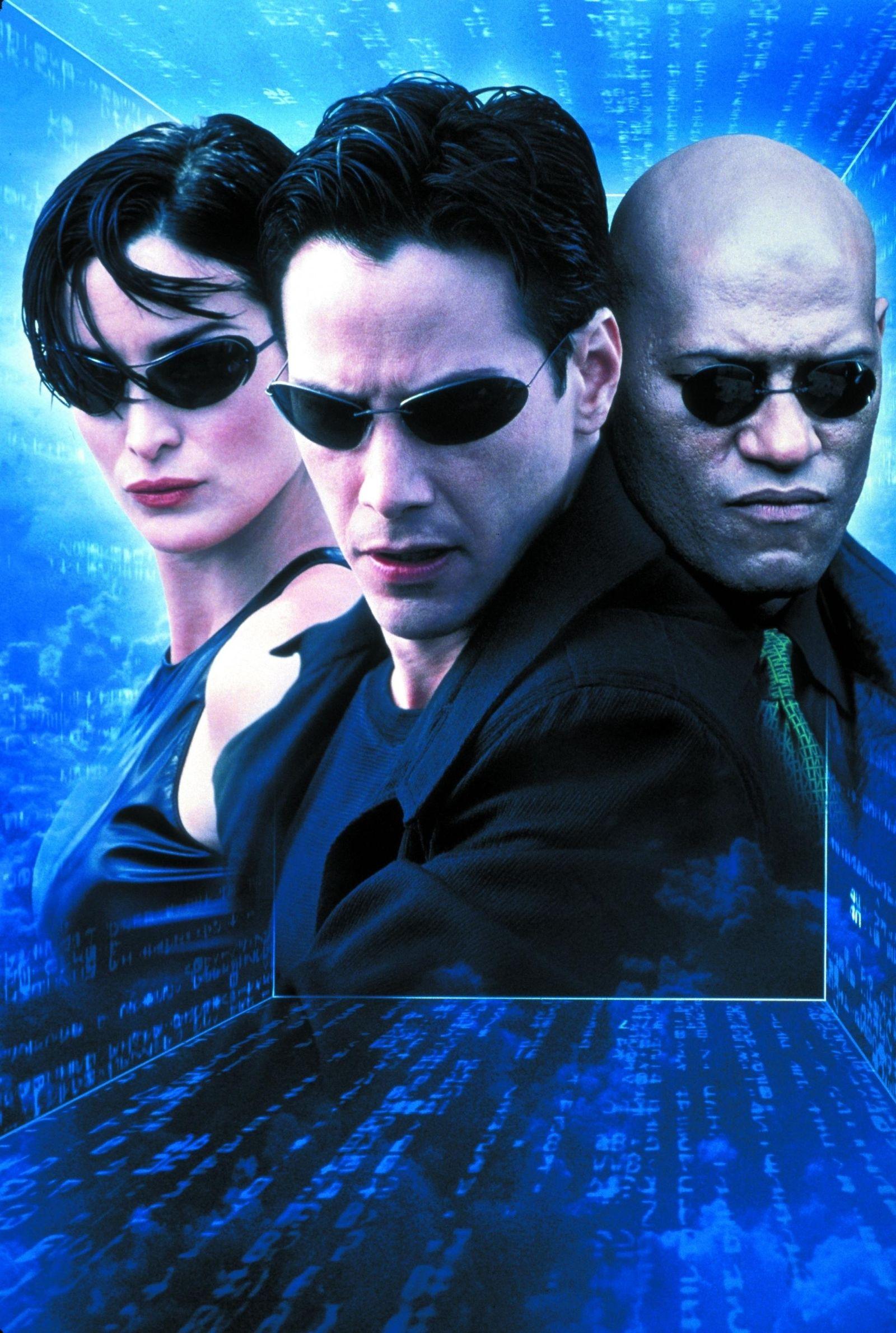 EINMALIGE VERWENDUNG Geschichte der Sonnenbrille / Matrix Reloaded, The