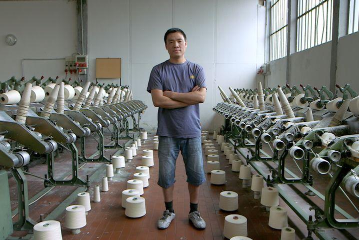 Arbeiter Li Zhong Cai (in Italien): 30 Prozent Gebühren