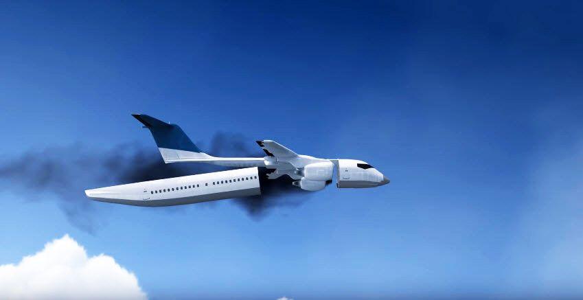 Flugsicherheit: Ingenieur entwickelt Rettungskapsel für Passagierflugzeuge