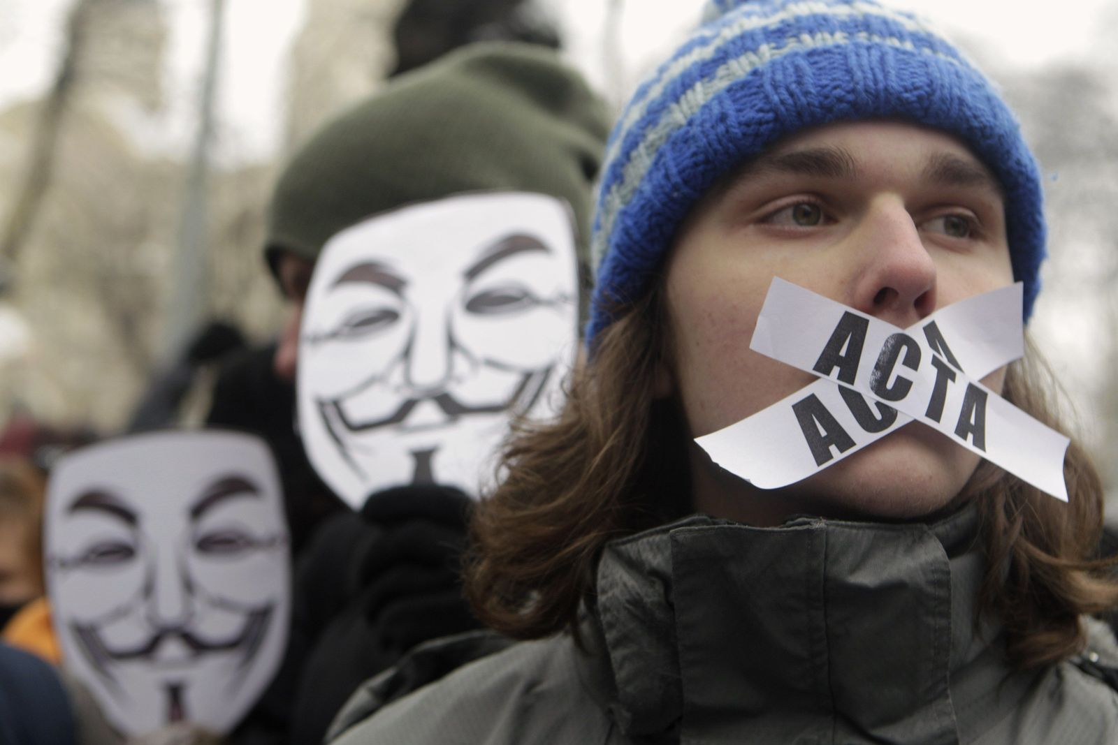 LATVIA-PROTEST/ACTA