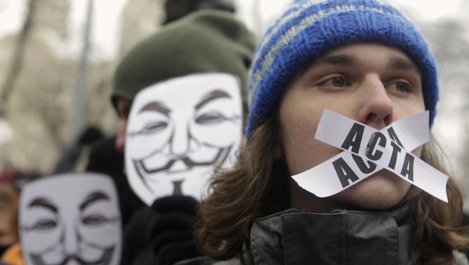 Anti-Acta-Protest: Hilfssheriffs für das Internet?