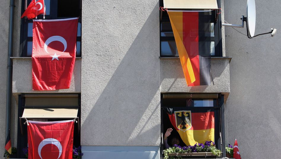 Turkish neighbors: But Germans don't mind as much as everyone thinks they do.