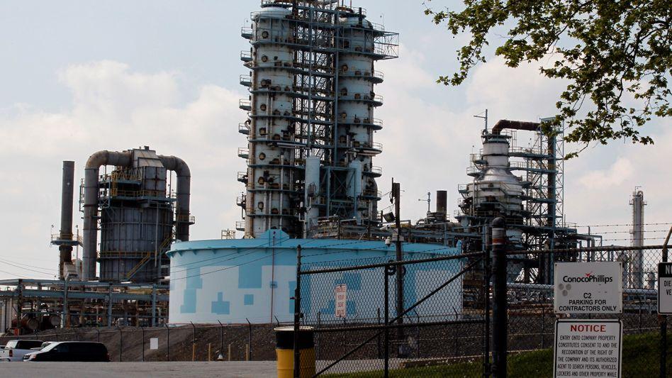 Zukünftige Delta-Raffinerie nahe Philadelphia: Sicherung gegen hohe Treibstoffpreise