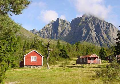 Sommeralm-Hütten in den Sunnmørsalpen: Abseits der Touristenrouten zwischen Bergen und Trondheim