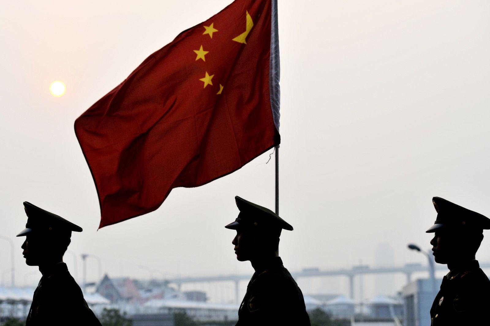 China Wachleute