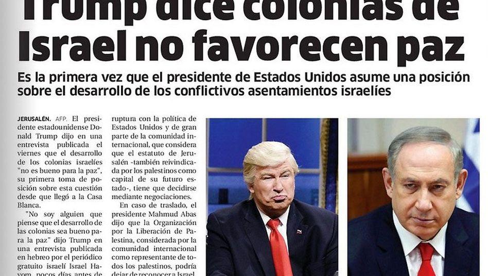 """Artikel im """"El Nacional"""""""