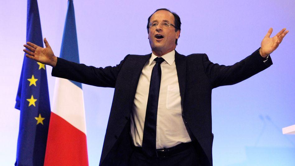 Präsidentschaftskandidat François Hollande: Nichts gelernt