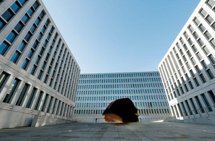 BND-Zentrale in Berlin-Mitte