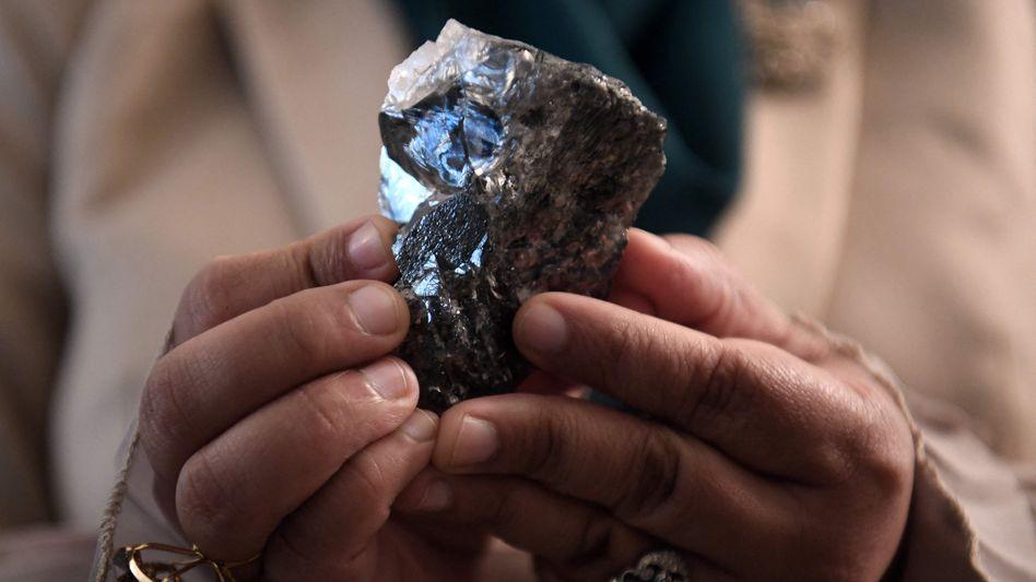 Riesendiamant: Spektakulärer Fund in Botswana