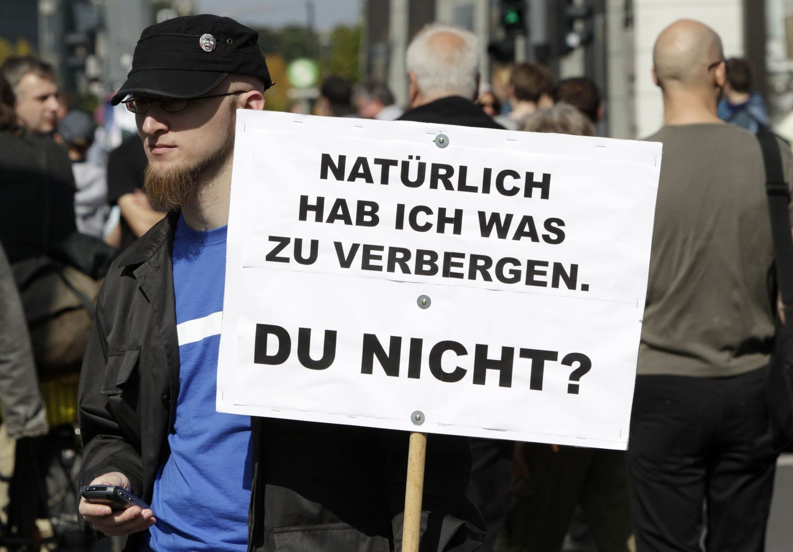 Demo / Datenschutz / Berlin