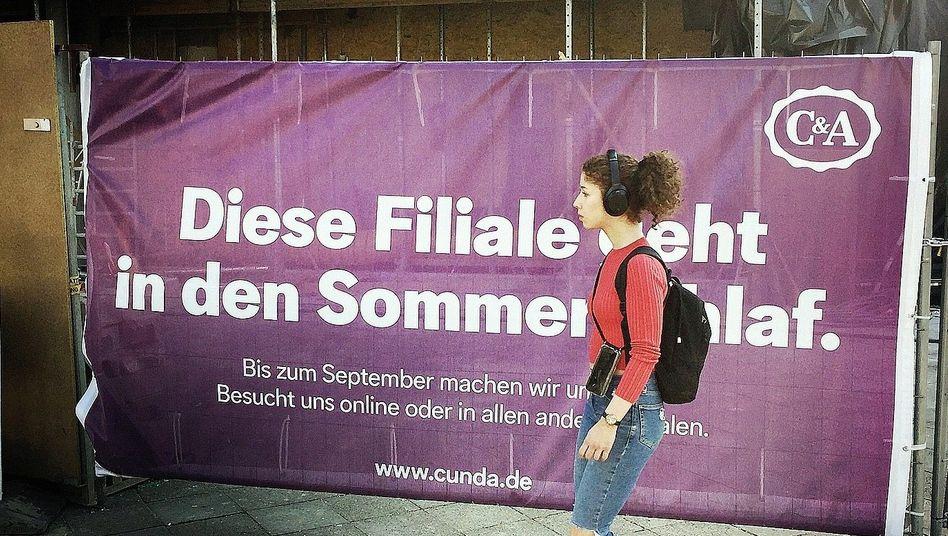 "C&A-Filiale in Berlin im April:""Hier sind alle am Anschlag"""