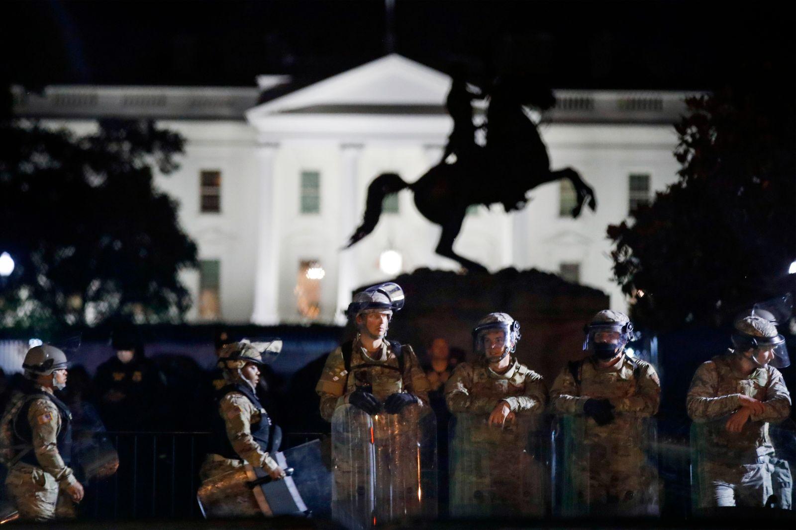Nach dem Tod von George Floyd - Washington