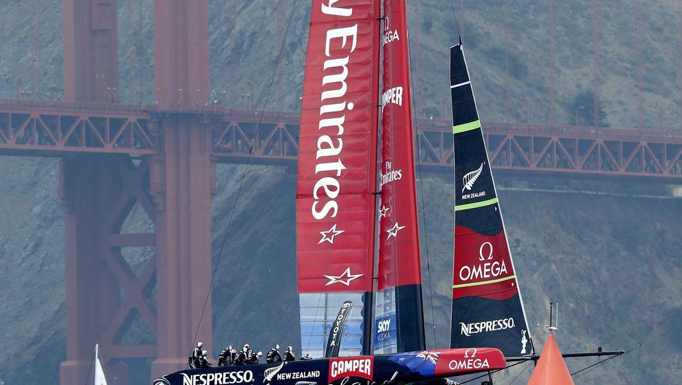 America's Cup in San Francisco: Vom Winde verweht