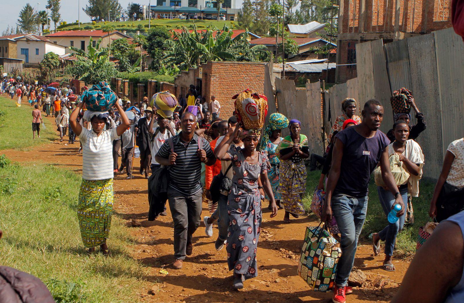 UNHCR Ruanda Flüchtlinge erschossen