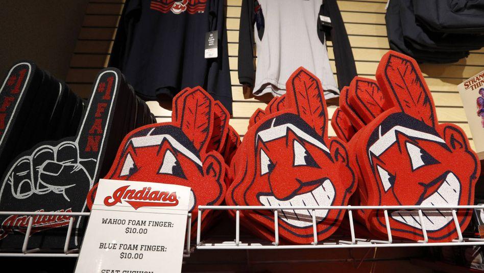 Merchandise-Artikel der Cleveland Indians