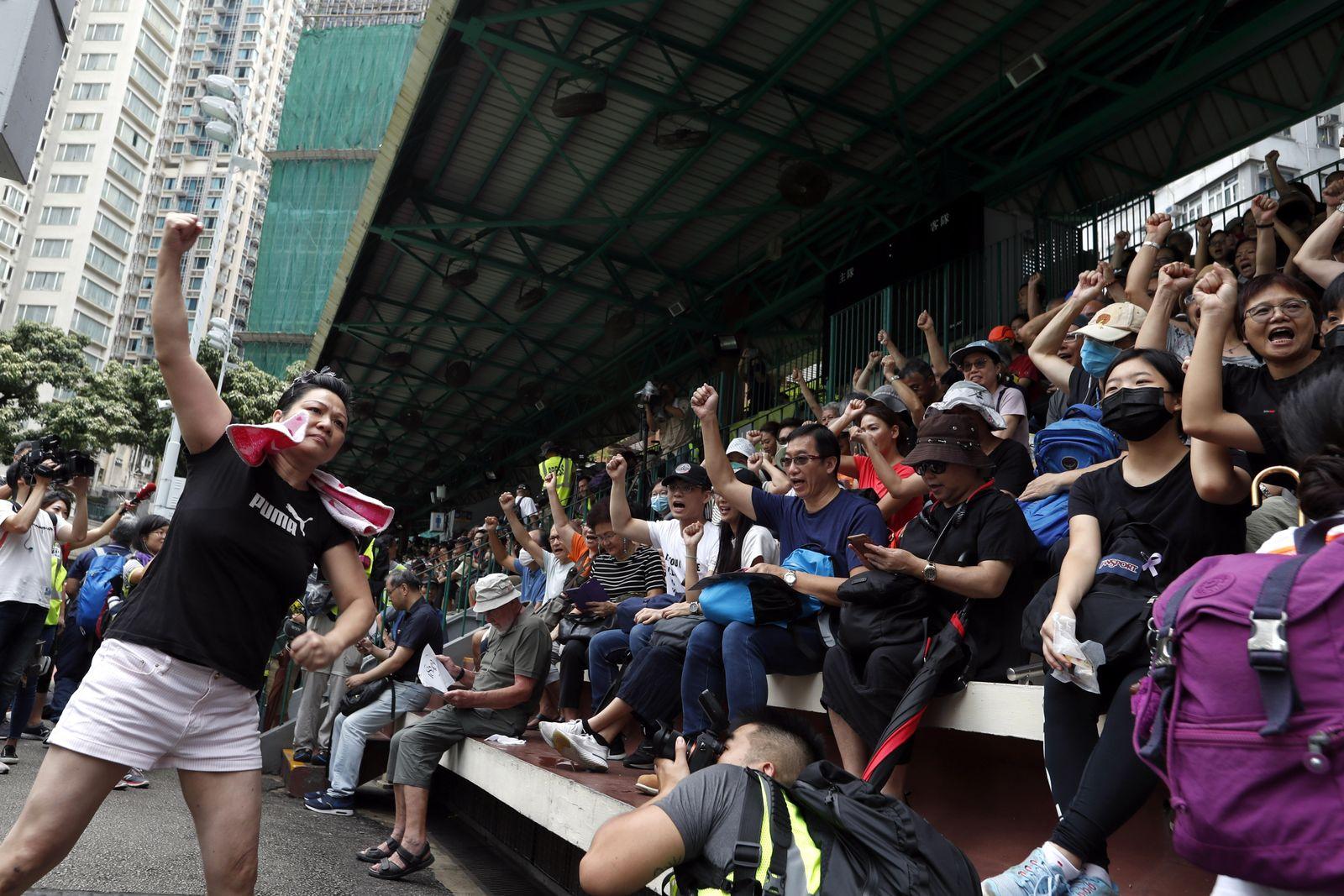 Hong Kong/ Proteste